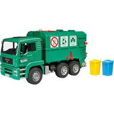 Мусоровоз MAN TGA, зеленый) , Bruder