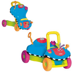 Ходунок-каталка 2 в 1 PLAYSKOOL, синий Hasbro