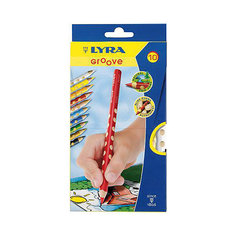 Утолщенные цветные карандаши, 10 шт. Lyra
