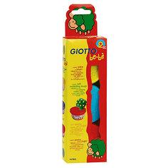 Мягкая паста для моделирования - аналог соленого теста, 3шт х 100 г, желтый, красный, синий. Lyra