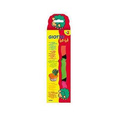 Мягкая паста для моделирования - аналог соленого теста, 3шт х 100 г, красный, зеленый, розовый. Lyra