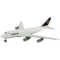 Сборка самолет Boeing 747 Lufthansa Revell