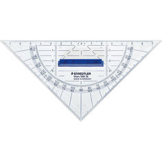 Геометрический треугольник Mars со съемной ручкой, 16 см, Staedtler