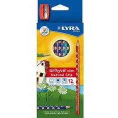 Цветные карандаши, 12 шт. Lyra