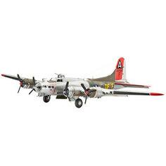 Самолет бомбардировщик Боинг B-17G «Летающая крепость», американский Revell