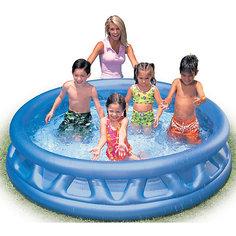 Детский надувной бассейн с мягкими стенками, Intex