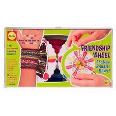Набор для плетения фенечек из цветных шнуров , ALEX