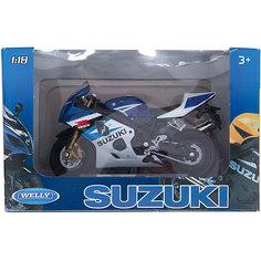 Welly Модель мотоцикла 1:18 MOTORCYCLE / SUZUKI GSX-R750