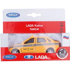 Welly Модель машины 1:34-39 LADA Kalina Такси