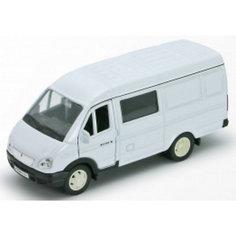 Welly Модель машины ГАЗель фургон с окном