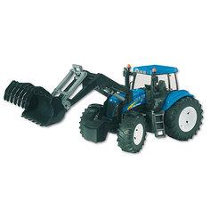 Трактор New Holland T8040 с погрузчиком, Bruder