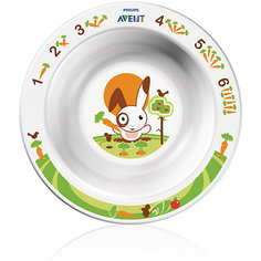 Маленькая глубокая тарелка, AVENT
