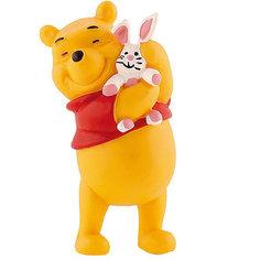 Фигурка Винни и кролик, Винни Пух Bullyland