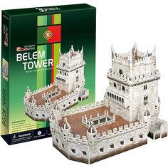 """Пазл 3D """"Башня Белен (Португалия)"""", 46 деталей, CubicFun"""