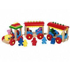 Игрушка деревянная паровозик Борнхольм, goki