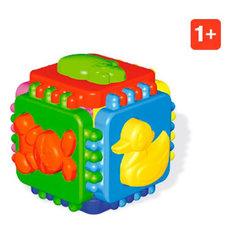 """Логический куб """"Веселые зверята"""", Стеллар"""
