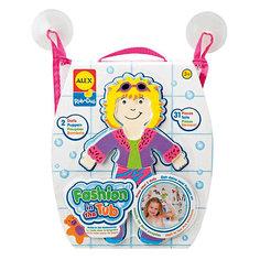 """ALEX Набор фигурок для ванной """"Одень куклу"""""""