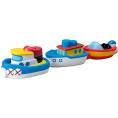 """Игрушка для ванны """"Магнитные лодочки"""", ALEX"""