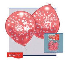 """Everts 10 шариков с рисунком """"Рождение малыша"""" (девочка)"""