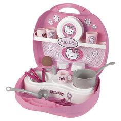Мини-кухня в чемоданчике Hello Kitty, 25,5*22,5*10 см, Smoby