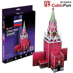 """Пазл 3D """"Спасская башня"""", 33 детали, CubicFun"""