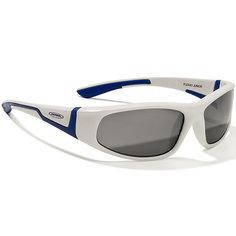 Очки солнцезащитные FLEXXY JUNIOR, бело-голубые, ALPINA