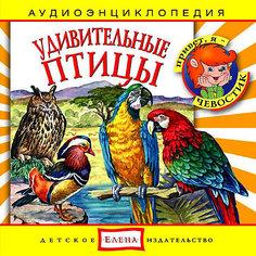 """Аудиоэнциклопедия """"Удивительные птицы"""", CD Детское издательство Елена"""
