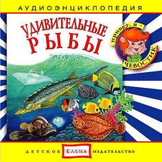 """Аудиоэнциклопедия """"Удивительные рыбы"""", CD Детское издательство Елена"""