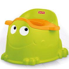 "Горшок ""Зеленый лягушонок"", Fisher-price Mattel"