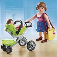 Покупательница с ребенком в коляске, PLAYMOBIL