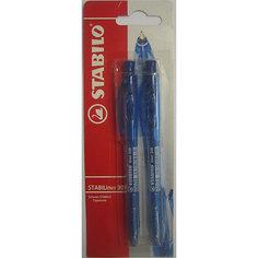 STABILO Liner Ручка синяя, 2шт