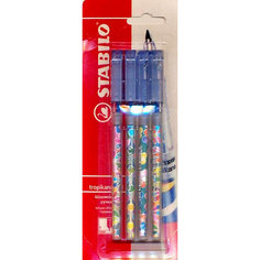 STABILO EXCEL Ручка синяя, 4шт