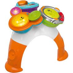 Музыкально-игровой столик DJ (консоль, барабаны, маракасы), Chicco