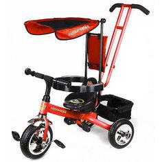 Super Trike Детский трехколесный велосипед, красный