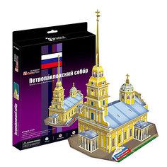 """Пазл 3D """"Петропавловский собор (Россия)"""", CubicFun"""