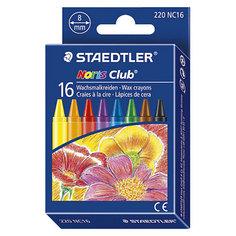 Staedtler Мелки восковые NorisClub, диаметр 8мм, 16цв.