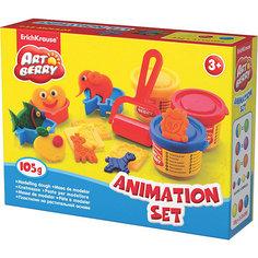 Игровой набор Animation Set, Artberry, 3 цв Erich Krause