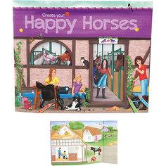 """Альбом с наклейками """"Create your Happy Horses"""", Creative Studio Depesche"""
