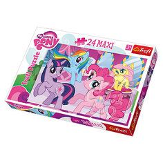 "Пазл  ""Пони среди друзей"", 24 детали, My little Pony Trefl"