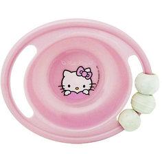 Миска-погремушка с резинкой против скольжения, Hello Kitty МФК профит