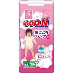 Подгузники-трусики Goon, XL 12-20 кг, для девочек, 38 шт.