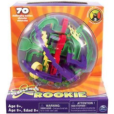 Головоломка Perplexus Rookie, 70 барьеров, Spin Master (цвет серо-белый)