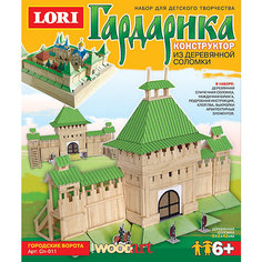 """Конструктор из серии """"Гардарика"""" Городские ворота, LORI"""