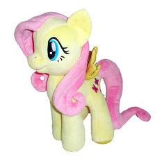 Мягкая игрушка  Пони Флаттершай, со светом и звуком, My little Pony, МУЛЬТИ-ПУЛЬТИ