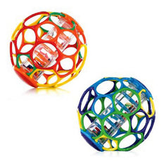 RU Мячик с погремушкой Oball