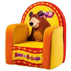 Игрушка-кресло Маша и медведь СмолТойс