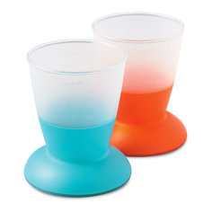 Комплект из 2 кружек BabyBjorn, голубой/оранжевый