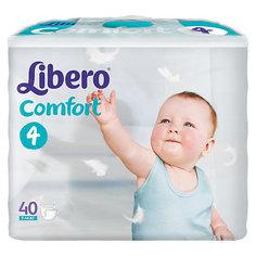 Подгузники Libero Comfort, Maxi 7-14 кг (4), 40 шт.