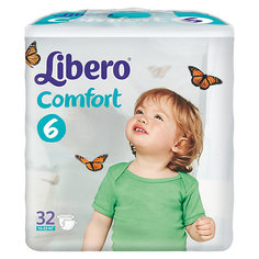 Подгузники Libero Comfort, XL 12-22 кг (6), 32 шт.