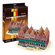 "Пазл 3D ""Рыночная площадь Брюгге (Бельгия)"", CubicFun"